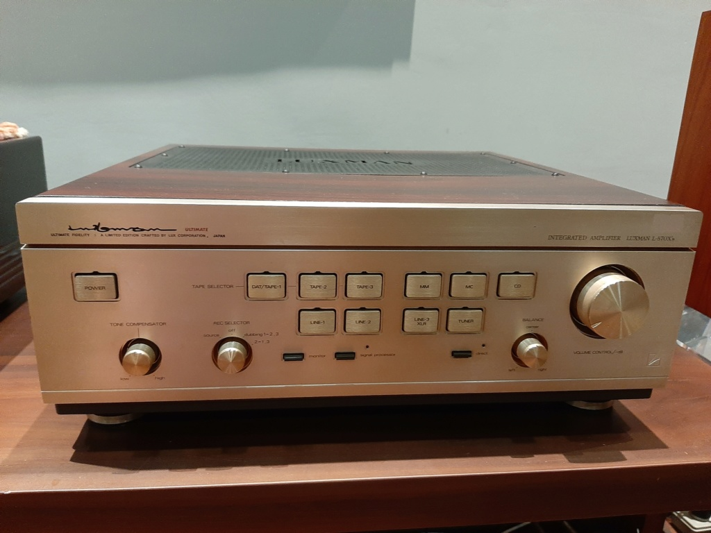 Luxman L-570X Integrated Amplifier (Sold) 20190910