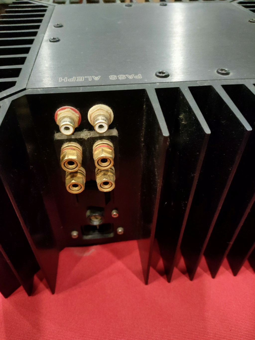 Pass Aleph 3 amplifier (Used) Img20224