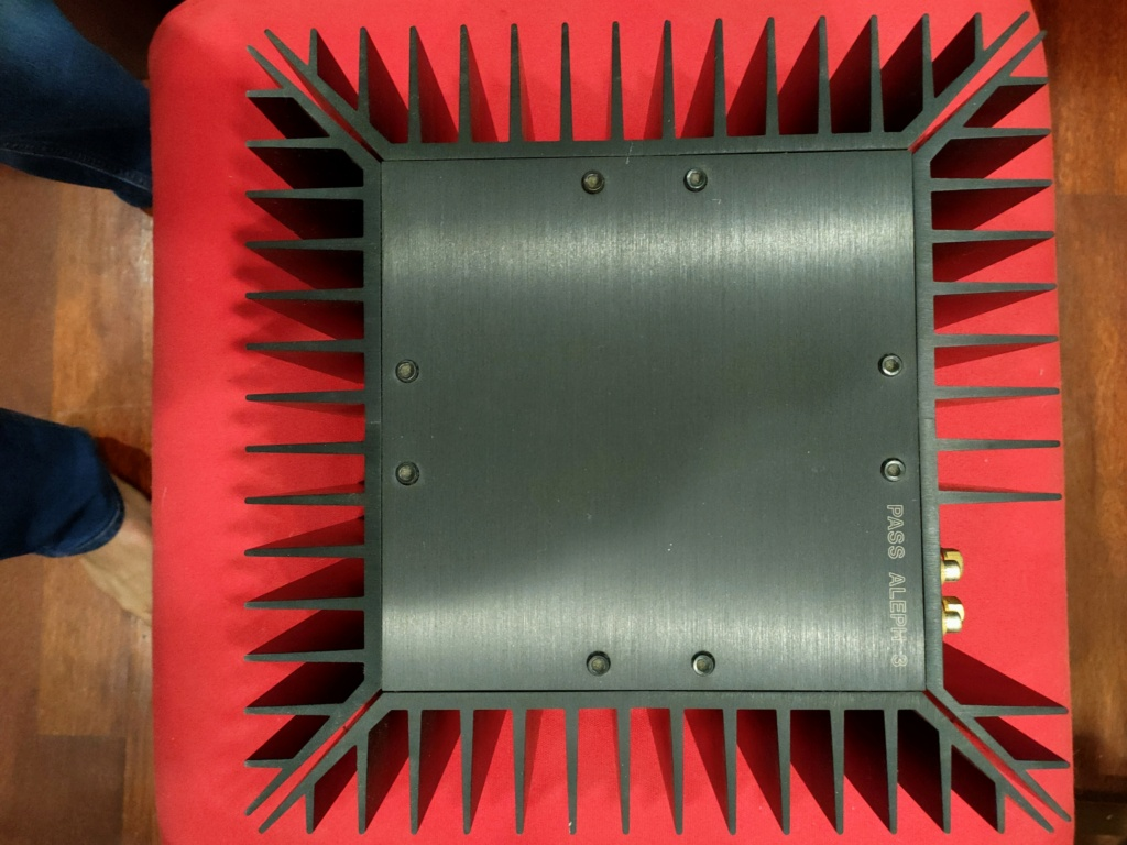 Pass Aleph 3 amplifier (Used) Img20225