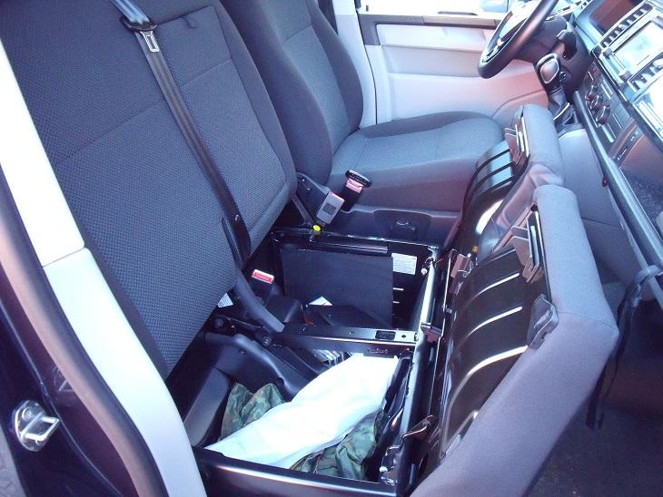 Vends ou échange banquette avant VW T6  Dscf6815
