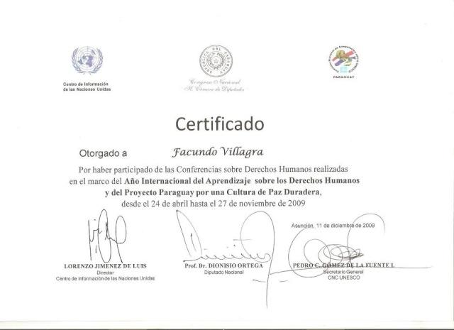 Fotos en el Congreso Nacional Certif11