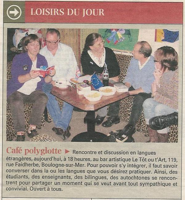Mercredi 3 mars 2010 à Boulogne article de journal Presse10