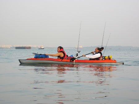 The Beginning of my kayak fishing adventures Meandj10