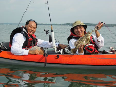 The Beginning of my kayak fishing adventures Mygrou10