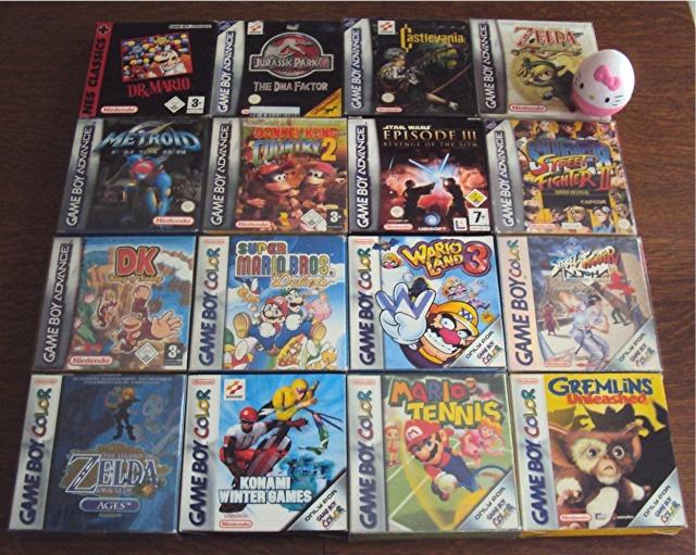 Ma p'tite collec Game Boy / Nintendo / SNK / ARCADE.. [MAJ mai 2013] - Page 3 Dsc04913