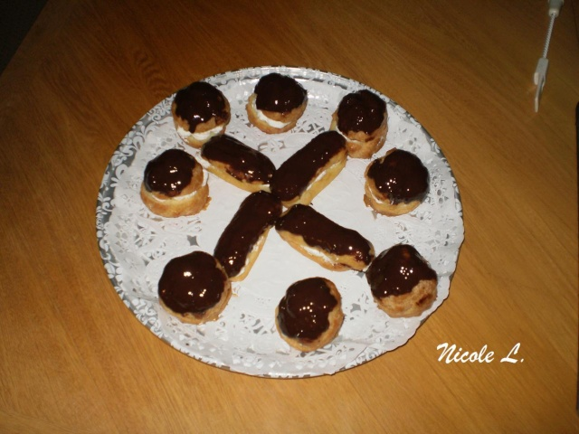 Pâte  à chou- éclairs-choux-carolines Aclair11