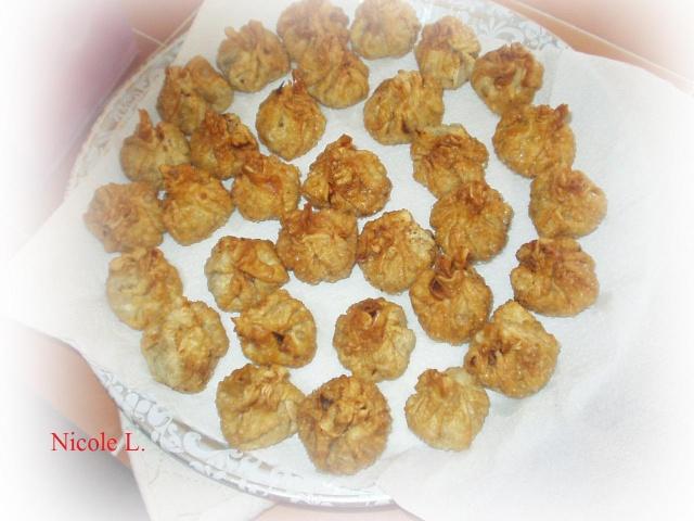 Baluchons à la Thaï sauce aux arachides Baluch10