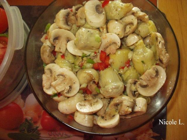 Coeurs d'artichauts et champignons marinés Coeur_10