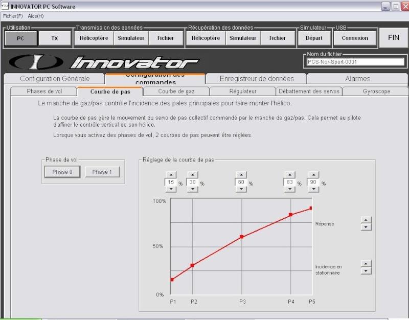 REGLAGES DE MON INNOVATOR EXPERT 88888810