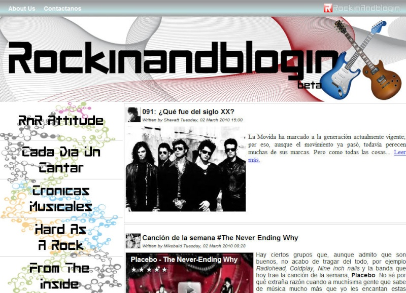 Rockin and blogin Rb10