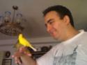 La primera cría de canario de este año me la encontré tiesa a los 13 días de vida Canari13