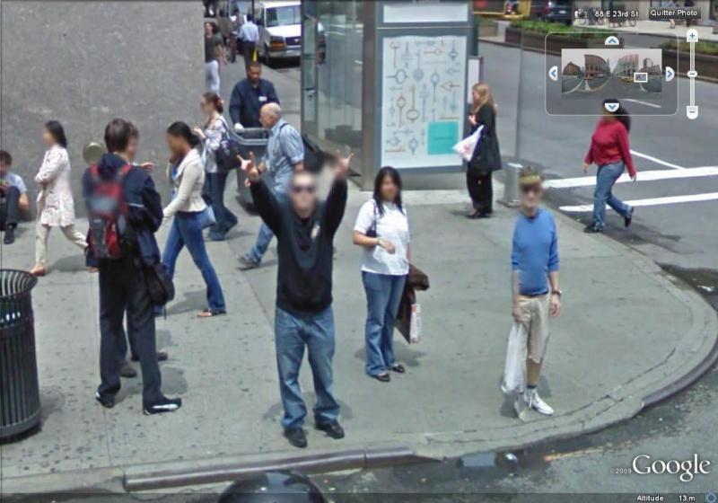 STREET VIEW : un coucou à la Google car  - Page 2 Google41