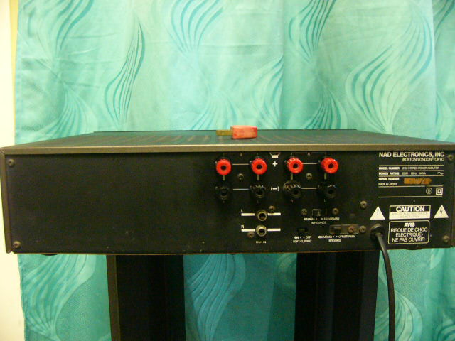 NAD power amp 2155 (used)sold