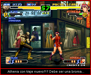 The King Of Fighters 2000 Athena11