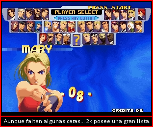 The King Of Fighters 2000 Cuadro13