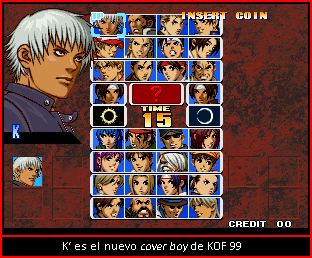 The King Of Fighters '99 Cuadro14