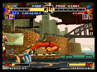 The King Of Fighters '96 King-o10