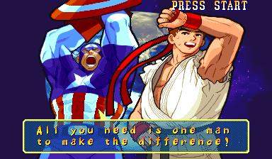 Marvel vs Capcom Mvsc-011