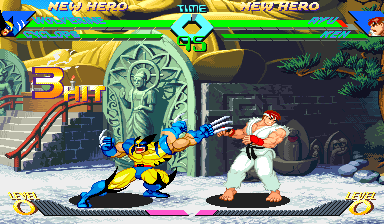 X-Men vs Street Fighter Xmvsfu11