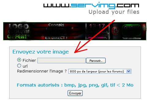 Comment envoyer une image/une photo? Insare10