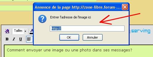 Comment envoyer une image/une photo? Insare15