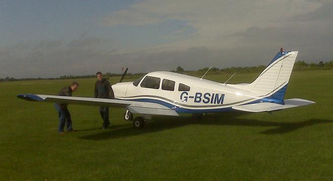 New Aircraft to the Fleet PA 28: G-BSIM. G-bsim10