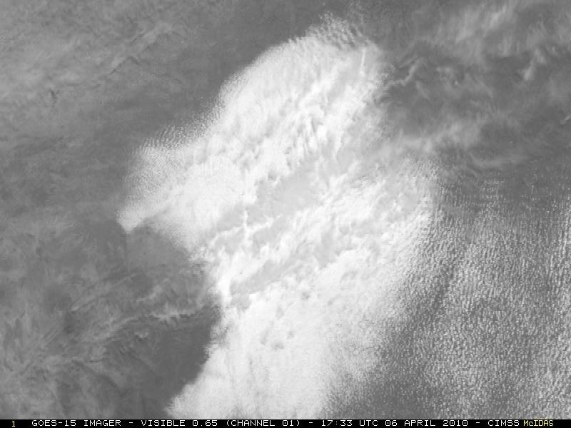 Satellite Goes-15 : prime immagini visibili a disco pieno 10040611