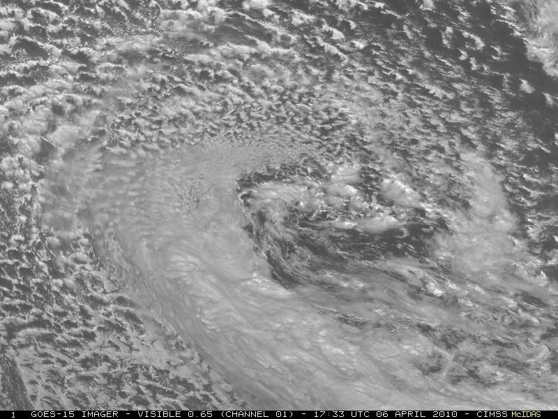 Satellite Goes-15 : prime immagini visibili a disco pieno 10040613