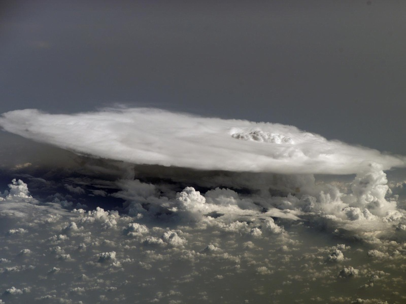 Cumulonembo sopra il continento Africano 44567010