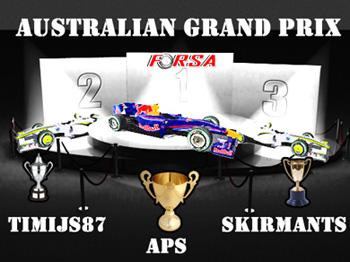 1. Australian Grand Prix Austra11