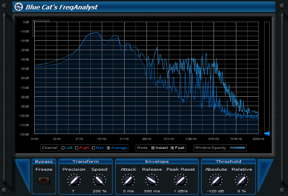 analyseur de spectre audio