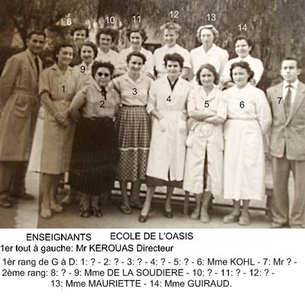 *** PHOTOS ECOLES DE CASA-OASIS Enseig12