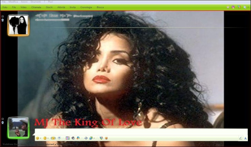 "MSN Skin by ""Mj The King Of Love"" Asdfgh11"