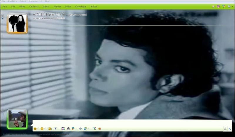 """MSN Skin by """"Mj The King Of Love"""" Klajsd10"""