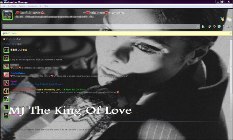 "MSN Skin by ""Mj The King Of Love"" Love11"