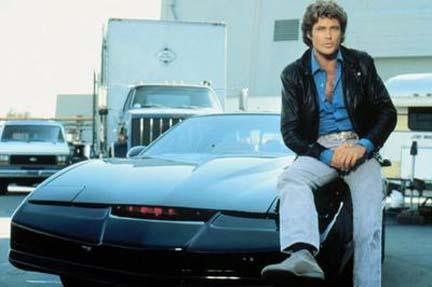 Le auto e le moto più famose nella TV Michae10