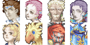 Divers Characters Ff511
