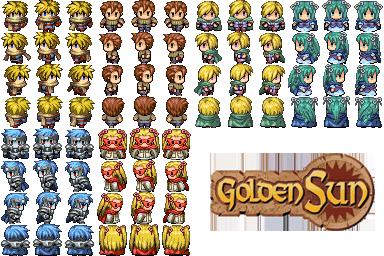 Divers Characters Golden11