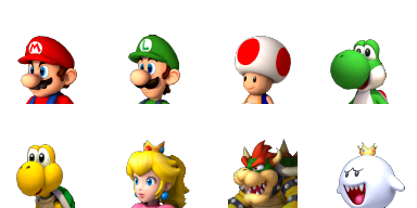 Divers Facesets Mario10