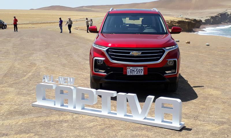 Nueva Chevrolet Captiva 2019 para Latinoamerica Cap_113