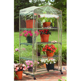 Mini Greenhouse/ Shelf unit?  Ever used this? Shelf10