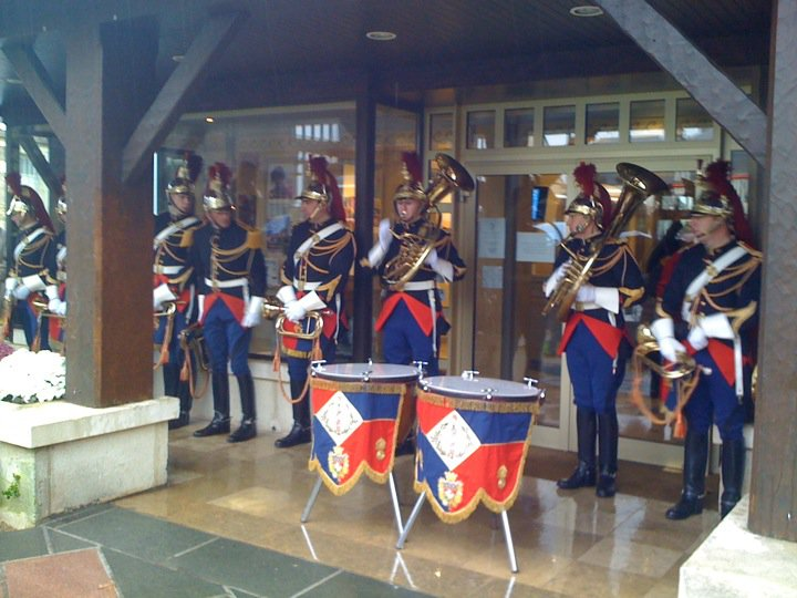 la fanfare de la garde républicaine a Deauville le 13 et 14 novembre 14868210