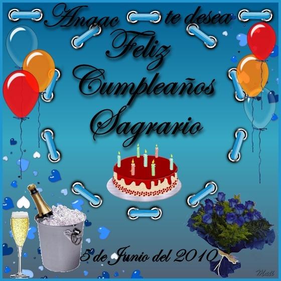 FELIZ CUMPLEAÑOS SAGRARIO Sagrar10
