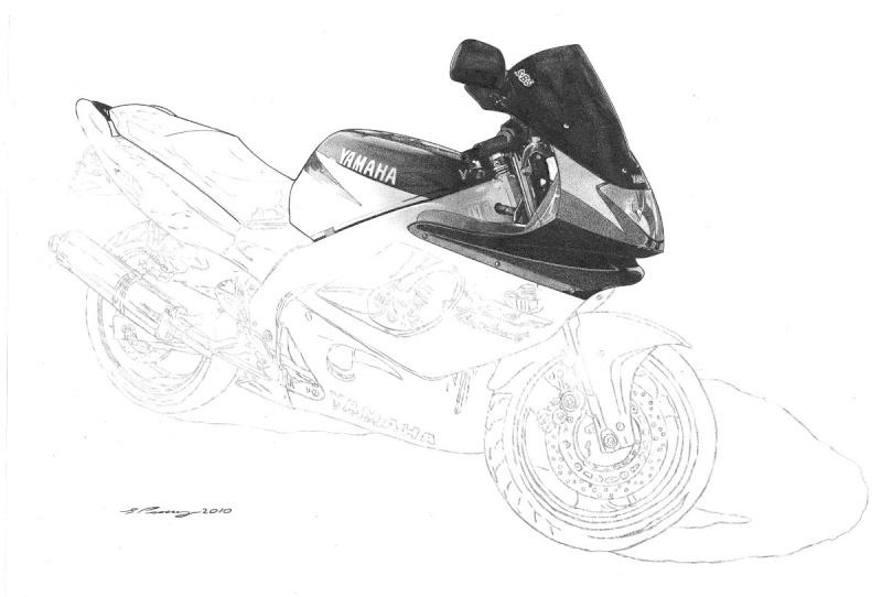 Thundercat Masterpiece taking shape. Yamaha15