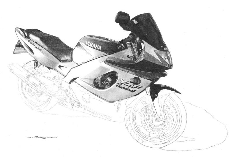 Thundercat Masterpiece taking shape. Yamaha16