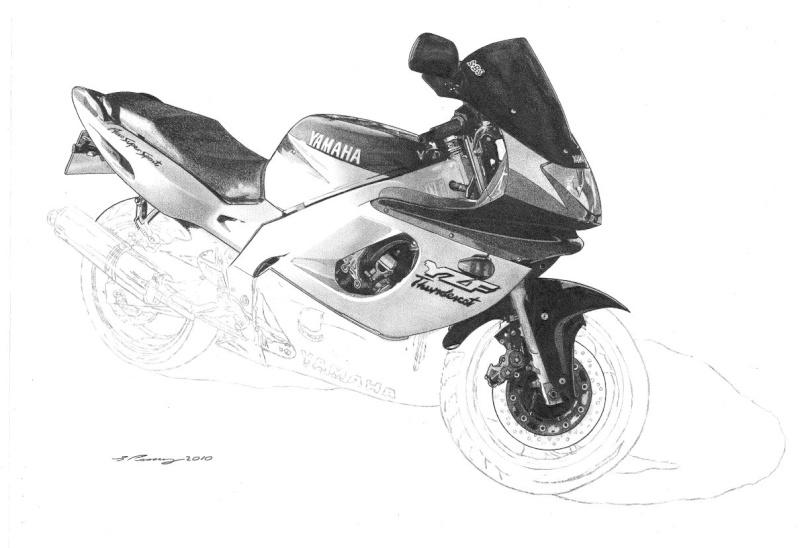 Thundercat Masterpiece taking shape. Yamaha17