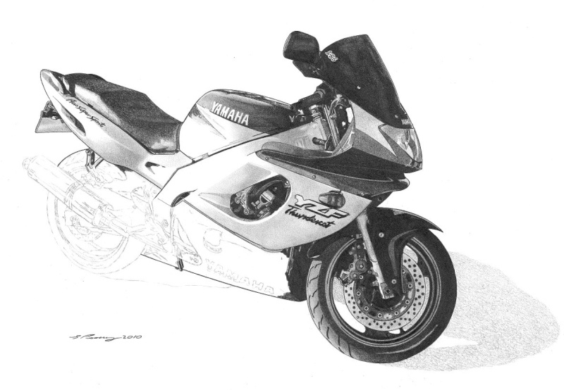 Thundercat Masterpiece taking shape. Yamaha18