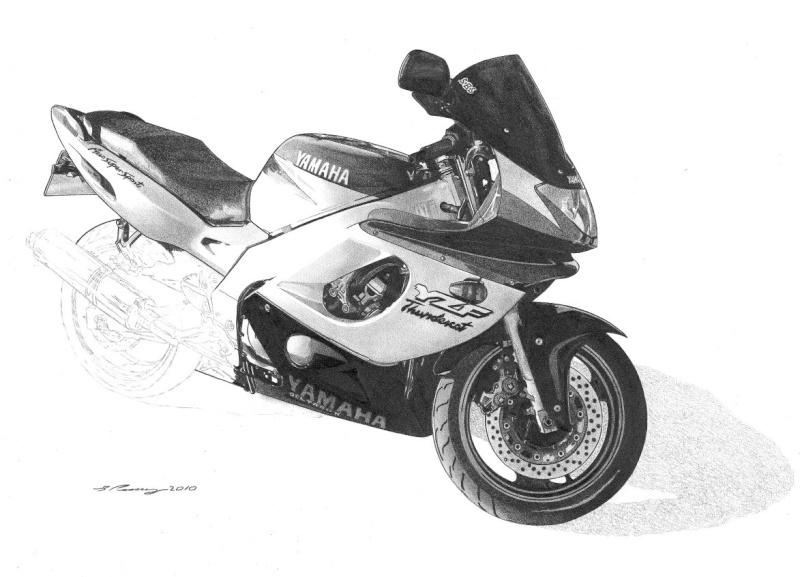 Thundercat Masterpiece taking shape. Yamaha19