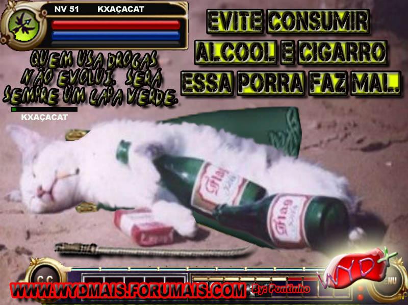 CAMPANHA ANTI ALCOOL WYD+ Charge22