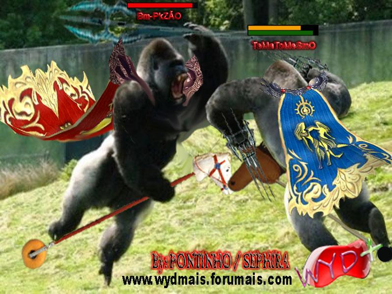 CHARGES DO PONTINHO Gorila10